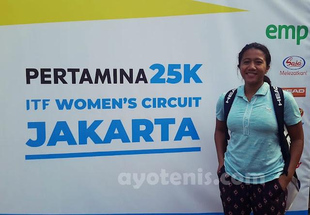 Libas Unggulan, Putri Sanjungan Melenggang ke Final Kualifikasi Turnamen Tenis Pertamina 25K ITF Women's Circuit
