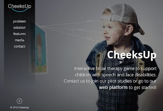 CheeksUp Develop Interactive Games To Improve Speech And Facial Therapy