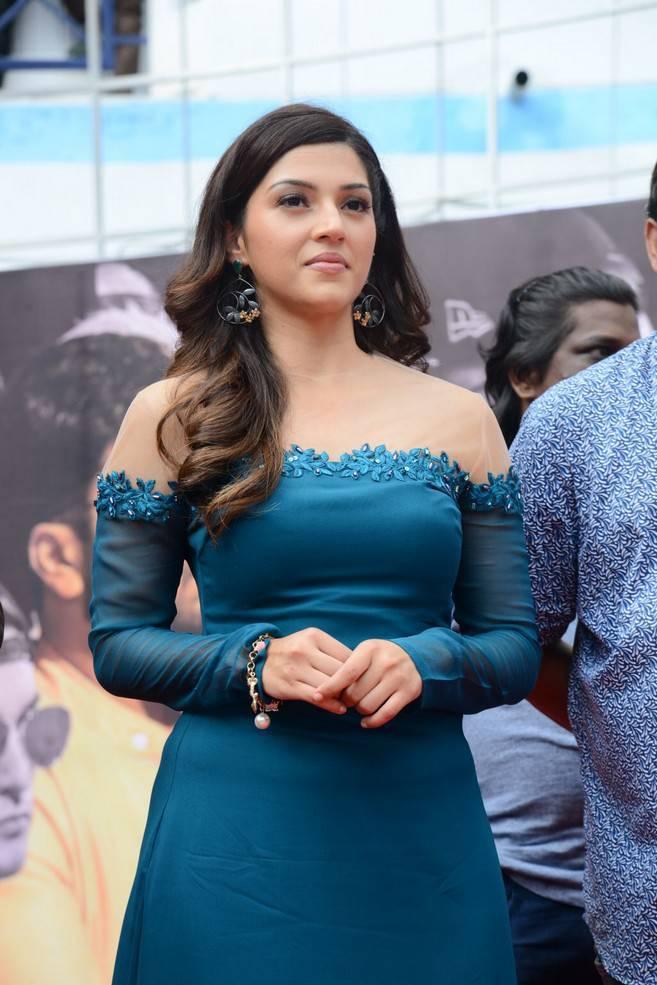 Mehreen Kaur At Mahanubhavudu Movie 2nd Song Launch Stills