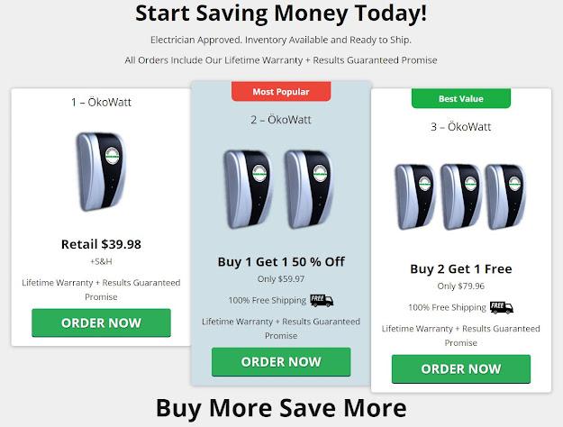 Buy Okowatt Energy Saver
