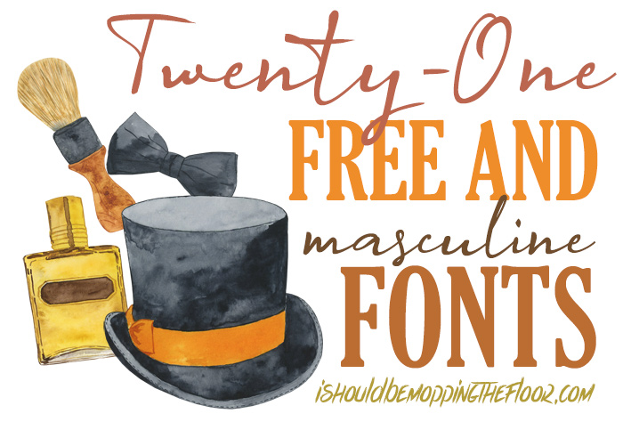 Manly Fonts