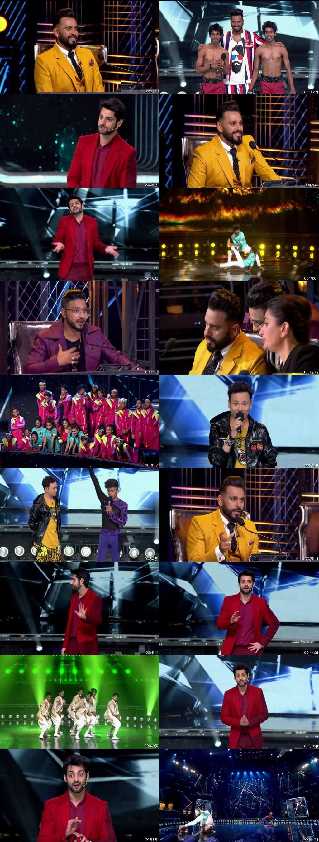 Screenshots Of Hindi Show Dance India Dance Battle of the Champions Season 7 4th August 2019 Episode 14 300MB 480P HD