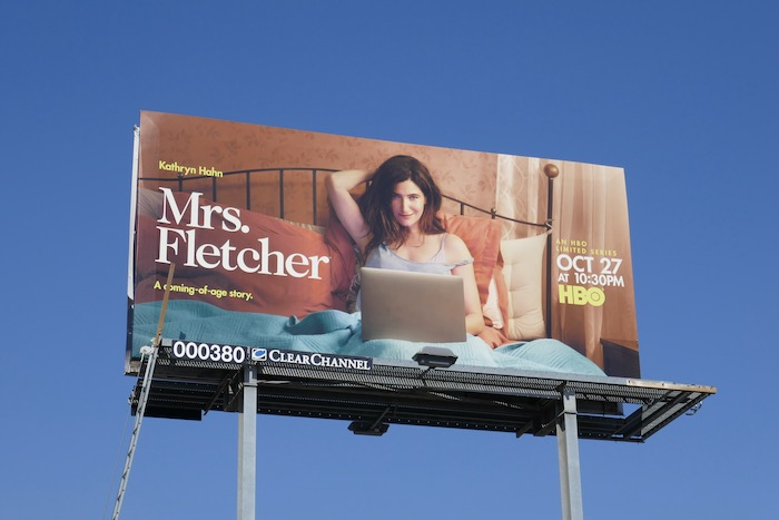 Mrs Fletcher limited series billboard