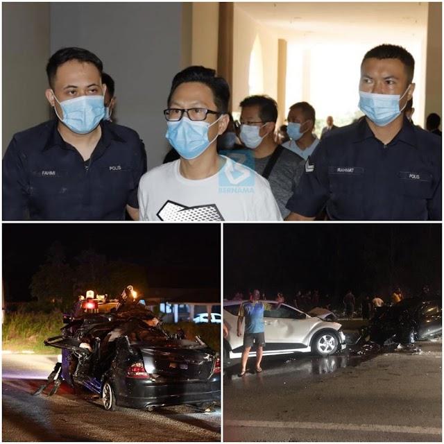Pemandu mabuk sebabkan kematian berdepan dakwaan membunuh!