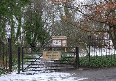 Reserve entrance at Cleaver Heath