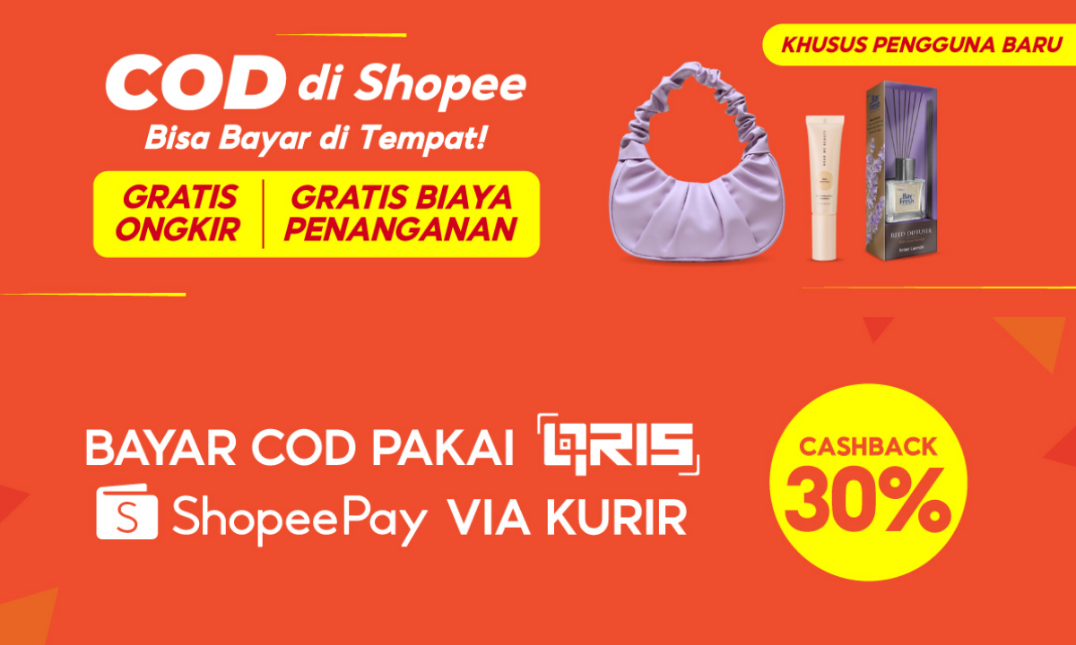 Cara Belanja di Shopee COD (Bayar di Tempat), Gampang!