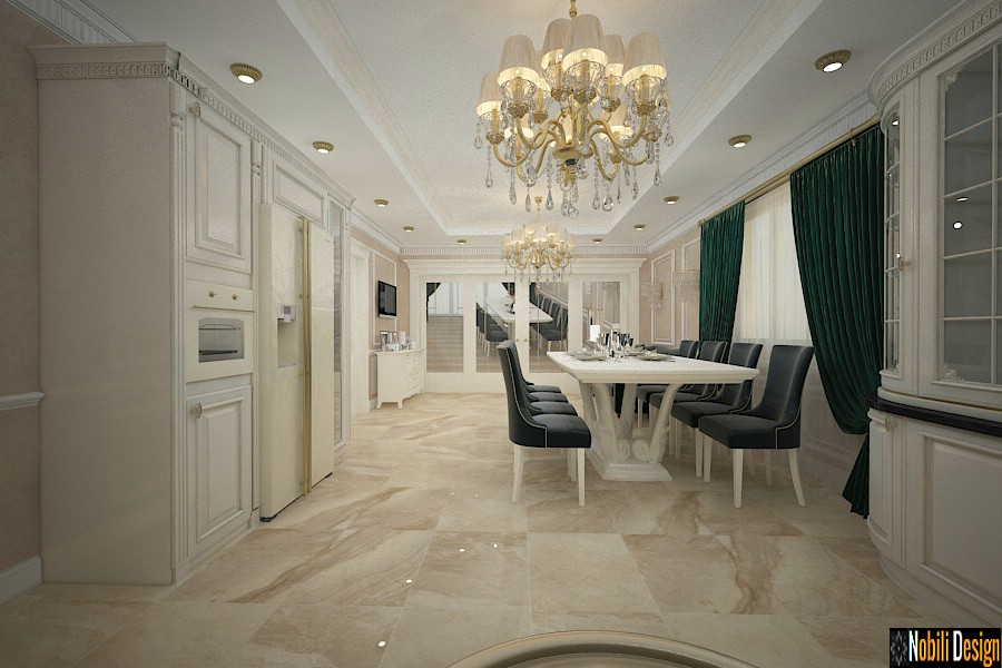 Design interior casa clasica Bucuresti - Amenajari interioare vile Bucuresti