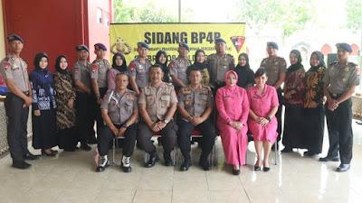 Satbrimobda Banten, Melaksanakan Sidang BP4R