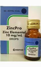 Fungsi & Dosis  ZincPro (Zinc/Zink)