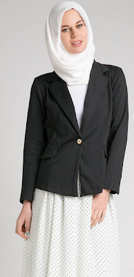 Model Baju Kerja Blazer Muslim Modern Terbaru