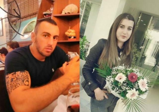 Aldison Belulaj and Ariela Murati
