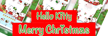 Tema Merry Christmas 2019 Hello Kitty untuk Vivo All Versi