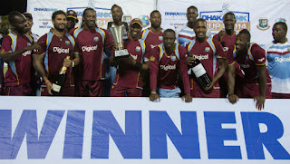 West Indies tour of Bangladesh 3-Match ODI Series 2014