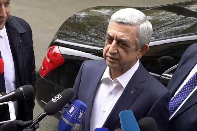 Otra causa penal contra Serzh Sargsyan