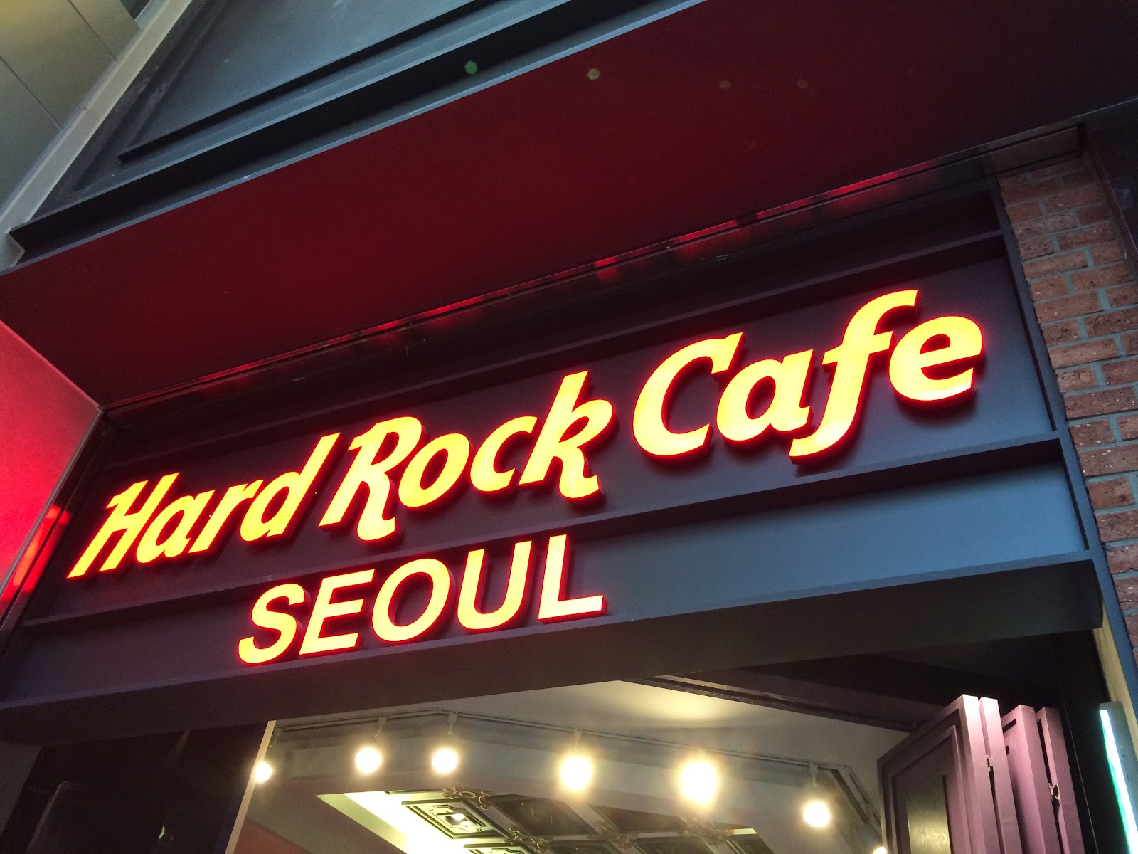Hard Rock Cafe : Seoul, Korea