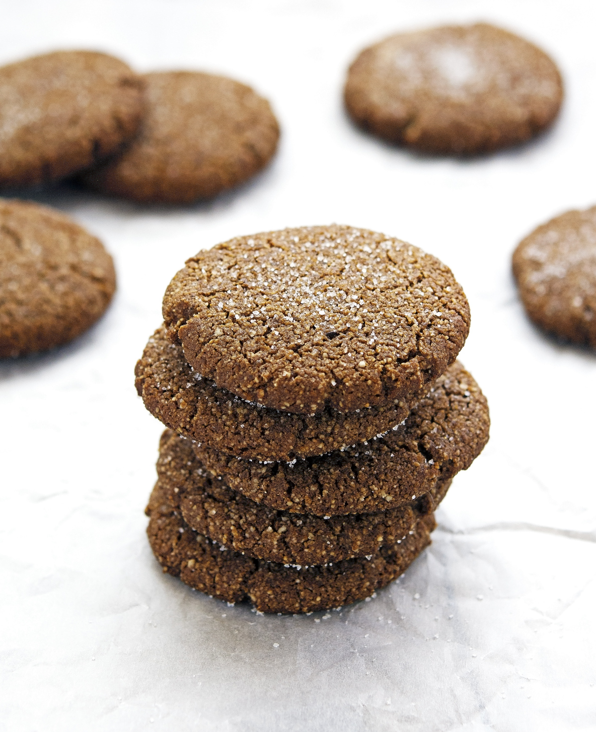 Chewy Gingerbread Cookies (Paleo and Vegan)