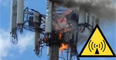 تخريب و حرق أبراج اتصالات 5G  ماهي أسباب تخريب و حرق أبراج اتصالات 5G