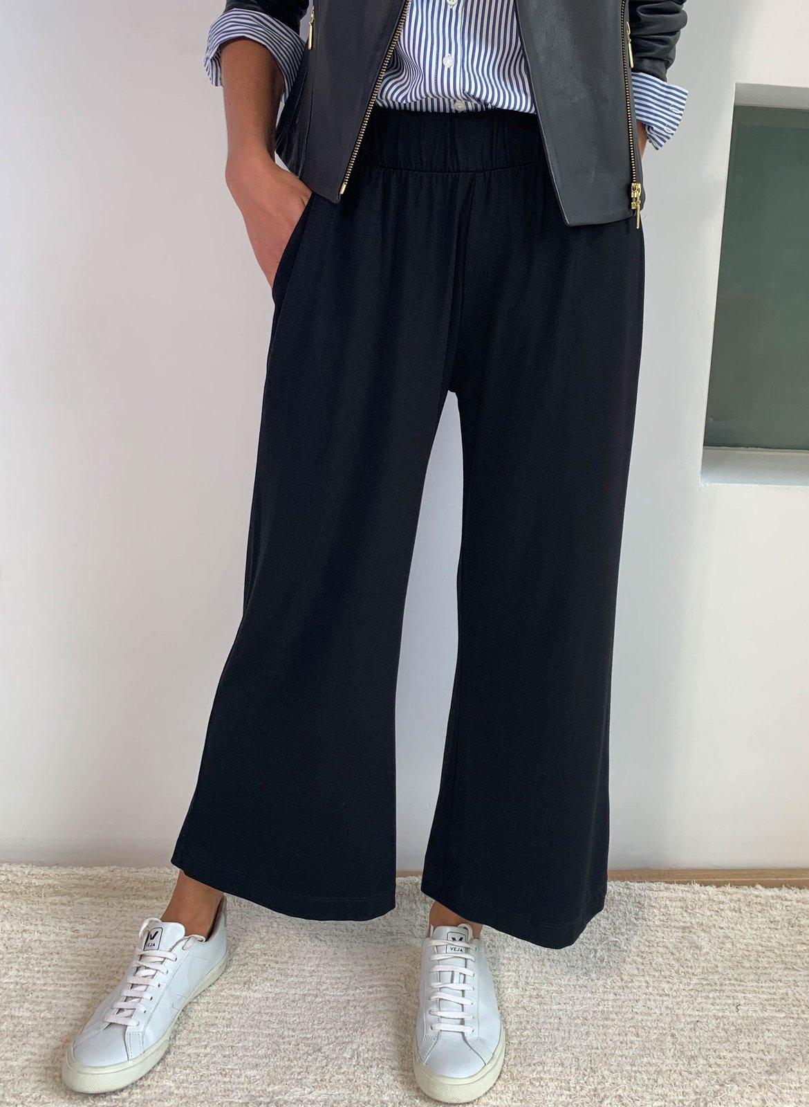 baukjen cropped palazzo trouser