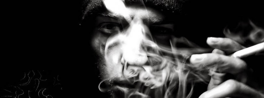 Tổng hợp những ảnh bìa Facebook khói thuốc tâm trạng buồn