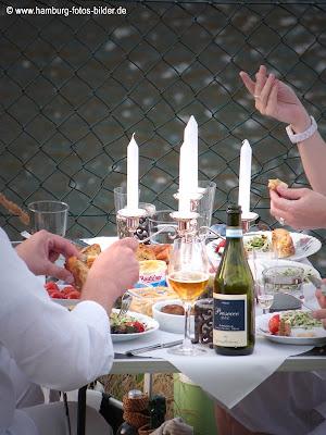 White Dinner Dekoration