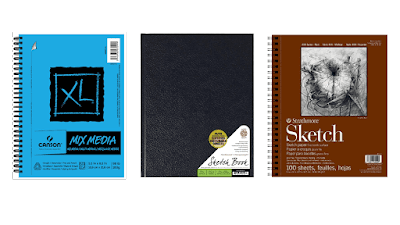 Best-sketchbooks-recommended-by-professional-artists