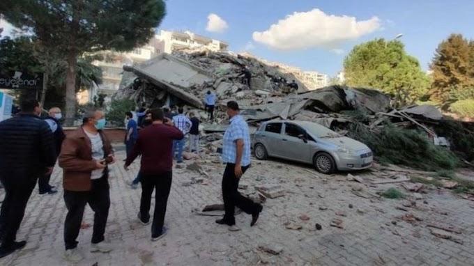 Earthquake in Turkey and Greece | ترکی میں زلزلے کے شدید جھٹکے