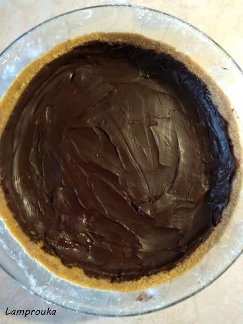 σοκολάτα και μπισκότο για το μπανόφι