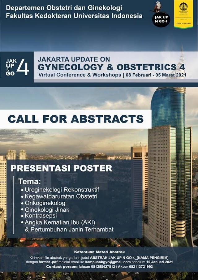Jakarta Update Gynecology & Obstetri Virtual Conference & Workshop