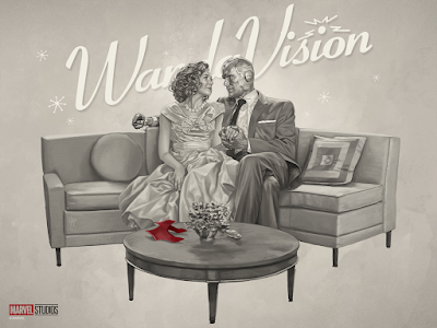 WandaVision Fine Art Print by Ruiz Burgos x Grey Matter Art