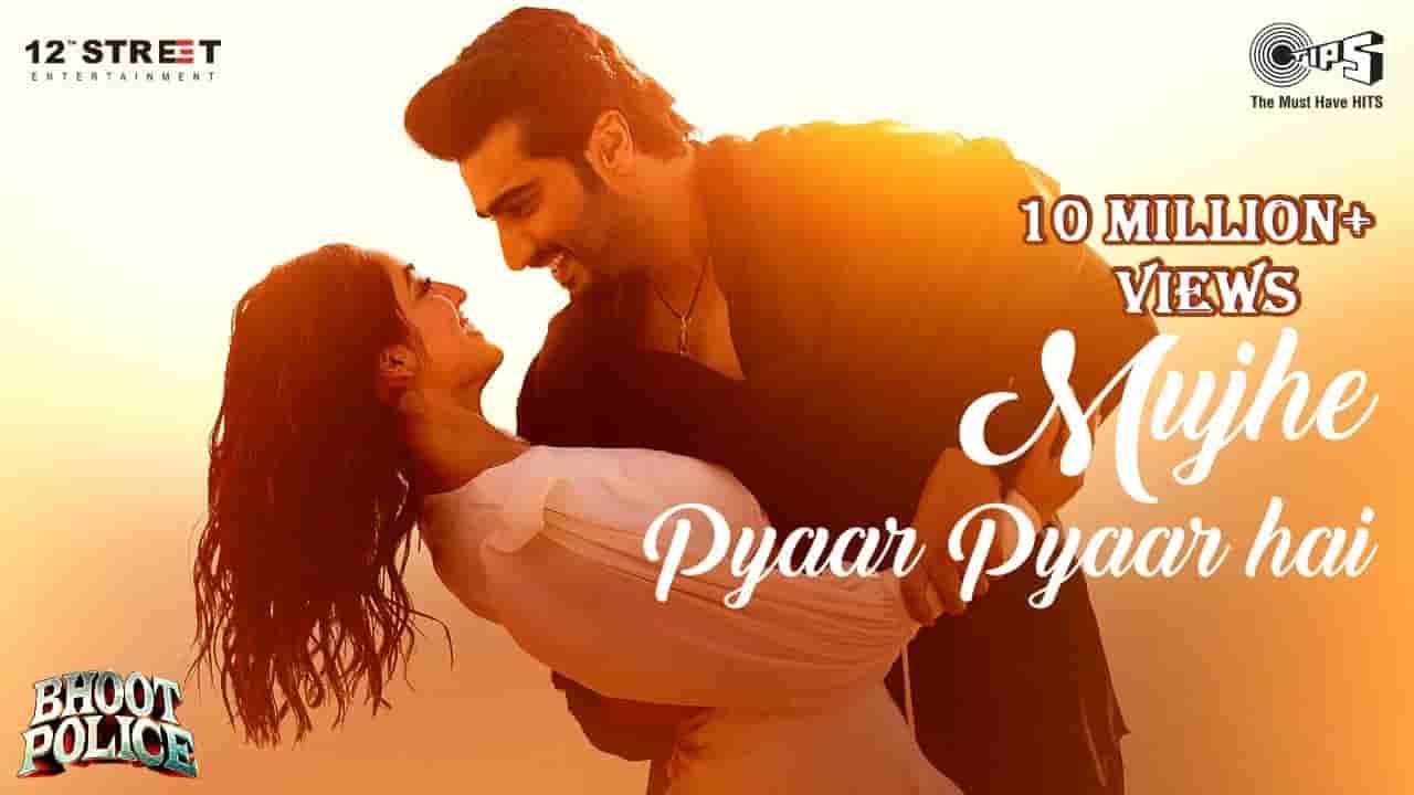 मुझे प्यार प्यार है Mujhe pyaar pyaar hai lyrics in Hindi Bhoot police Armaan Malik x Shreya Ghoshal Bollywood Song
