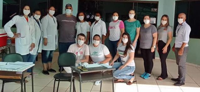 Iretama: Same Saab agradece equipe de Saúde pelo empenho em campanha de vacinação