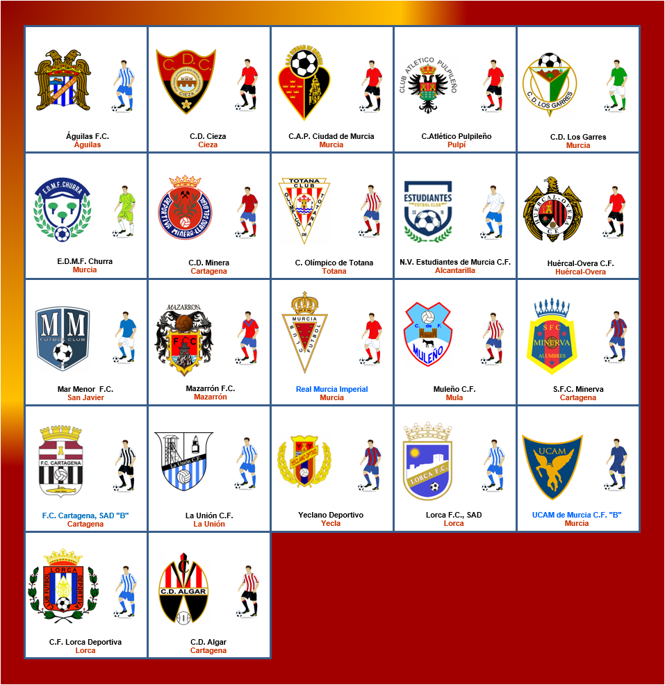 baratas para la venta Venta caliente genuino nueva especiales Fútbol Modesto: Resumen Tercera División Grupo XIII Murcia ...