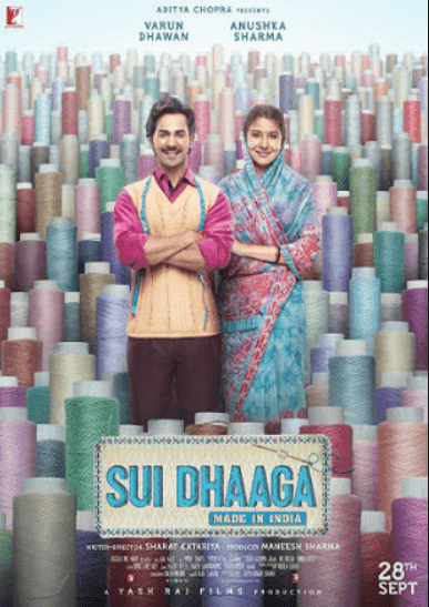 Sui Dhaaga: Made in India 2018 Full Hindi Movie Download BRRip 720p