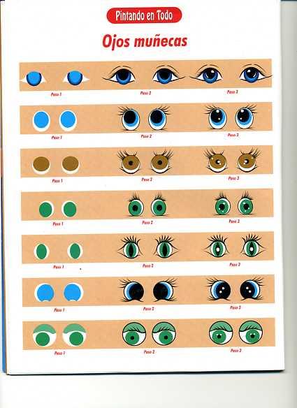 Dibujos Y Plantillas Para Imprimir Ojos Para Munecos