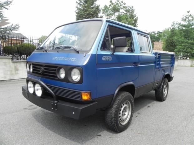 autoliterate: 1989 Volkswagen Vanagon Syncro Doka