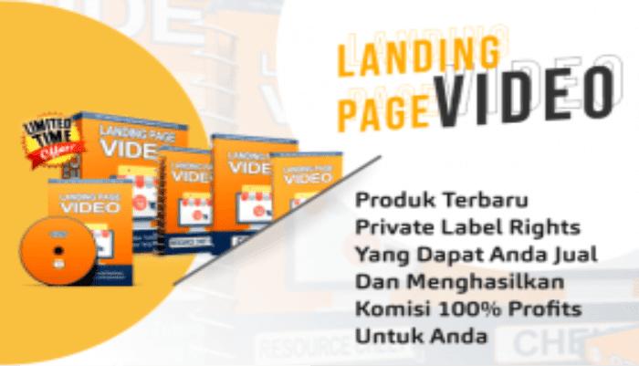 PLR Landing Page Video