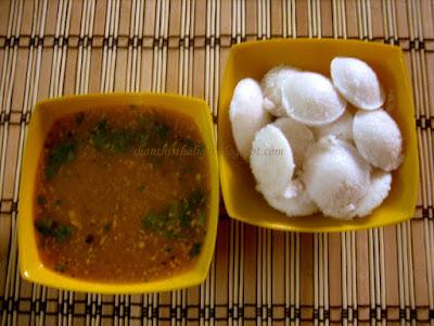 How to make hotel sambar, How to make mini idli sambar