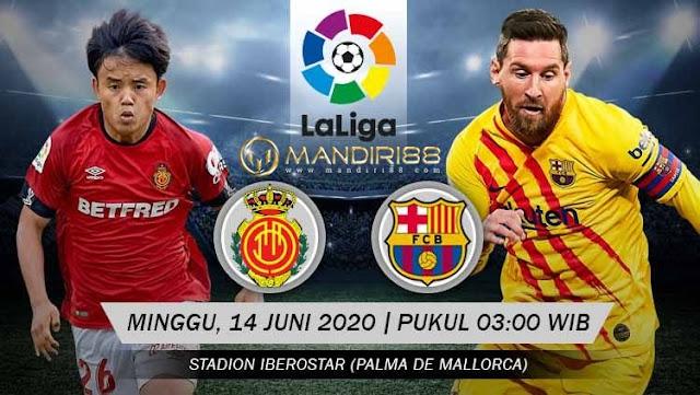 Prediksi Real Mallorca Vs Barcelona, Minggu 14 Juni 2020 Pukul 03.00 WIB