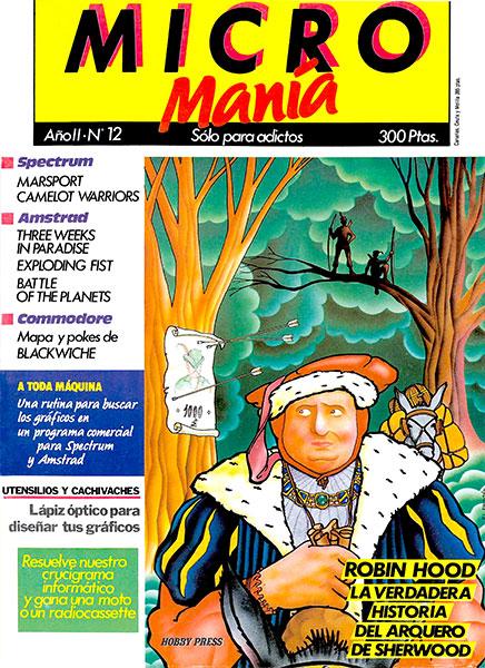 Revista Micromanía Número 12