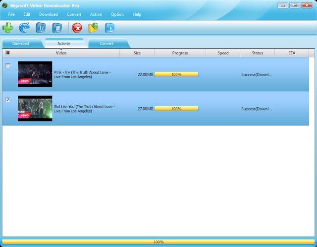 Bigasoft Video Downloader Pro v3.14 | Descarga y conversión de videos