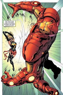 Cómic: Reseña de 100% Marvel HC. Carol Danvers: Ms. Marvel Vol2. La Iniciativa - Panini Comics