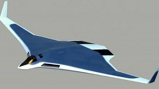 PAK DA Stealth Prototype Russian Bomber.