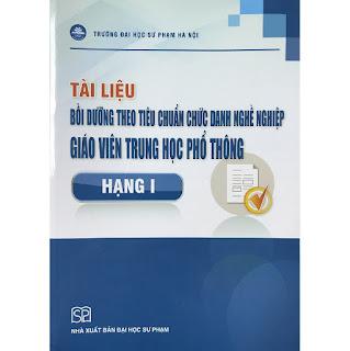 Tài liệu Bồi dưỡng theo tiêu chuẩn chức danh nghề nghiệp giáo viên THPT Hạng I ebook PDF-EPUB-AWZ3-PRC-MOBI