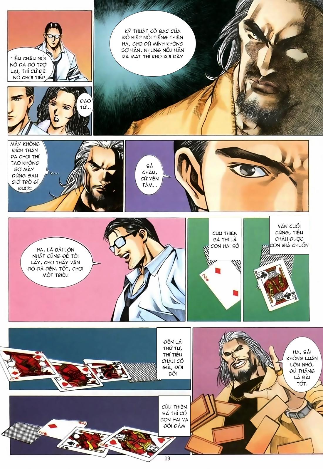 Đổ Hiệp Truyền Kỳ chap 1 - Trang 12