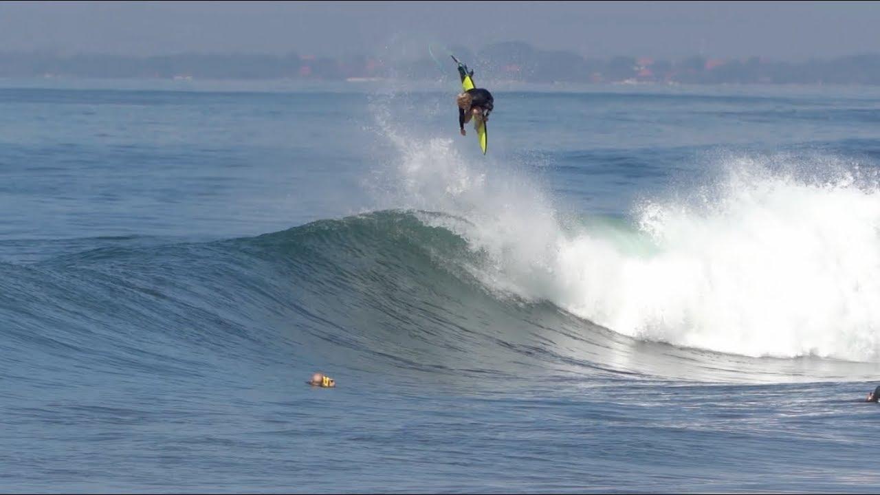 John John Florence And Torren Martyn Indo 2018 Bit Size SURFER Magazine