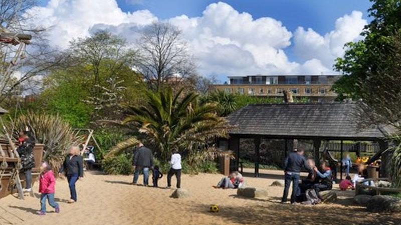 Diana Memorial Playground London Europeantours