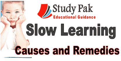 how to deal with slow learner student and child
