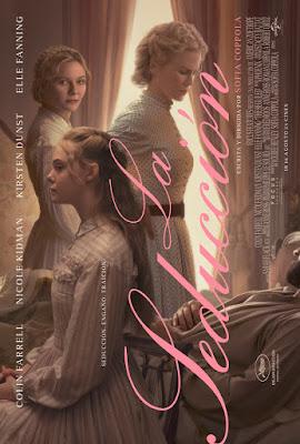 LA SEDUCCIÓN, la película de Sofía Coppola - poster españa