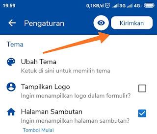bagaimana cara membuat google form di hp