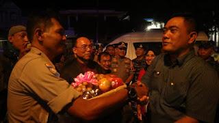 Forkompimda Kota Cirebon Monitoring Ibadah Misa Malam Di Beberapa Gereja